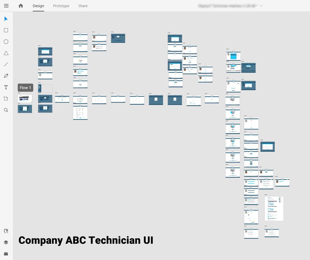 Technician UI